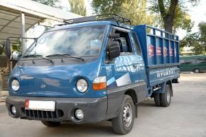 Доставка стройматериалов по Бишкеку